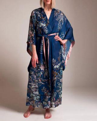 Carine Gilson - Colorful Garden of Lace Kimono