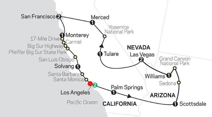 Golden West Adventure (14 Days Tour)