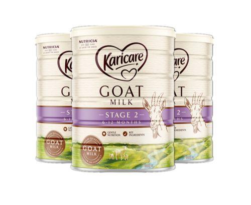 Karicare Goat Milk Powder 2 Stage 2019 900g*3