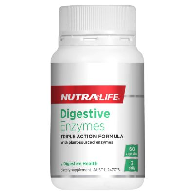 NUTRA-LIFE - Digestive Enzymes - Triple Action Formula