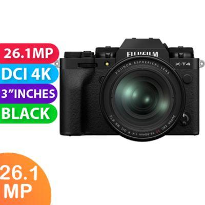 New Fujifilm X-T4 Mirrorless Camera Kit 16-80 Black