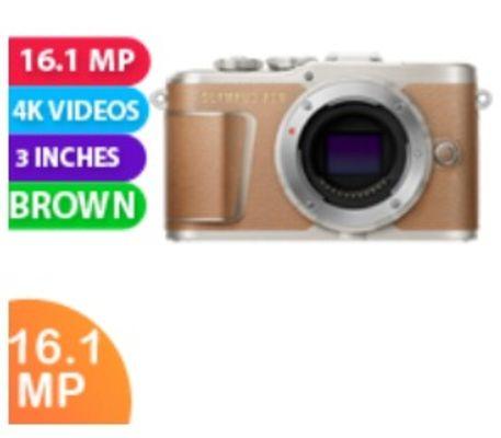 New Olympus PEN E-PL9 Body (kit Box) Brown