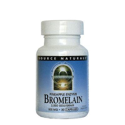 SOURCE NATURALS - Bromelain 500mg - Pineapple Enzyme