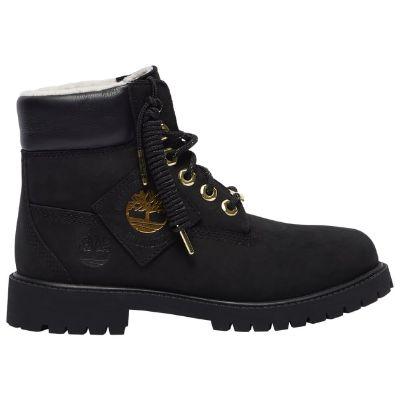 Timberland 6 premium shearling waterproof boots - boys grade school II