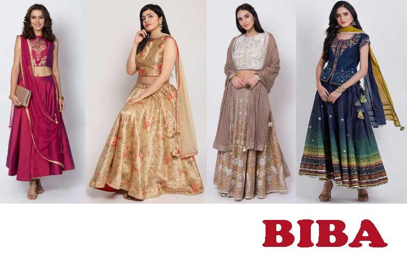 11 Best Selling Lehenga Set for Women from BIBA