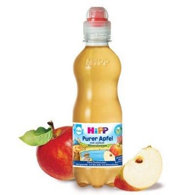 HIPP Organic Sugar Free Mineral Water Pure Apple Juice 300ml