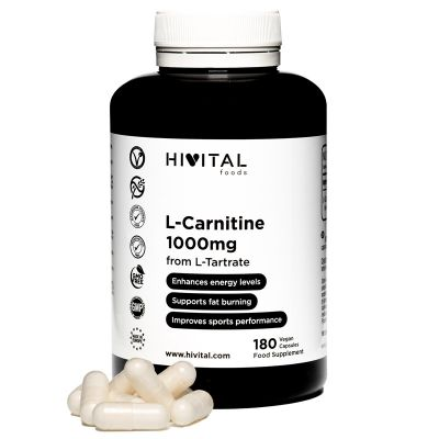 L-CARNITINE 1000 MG | 180 VEGAN CAPSULES