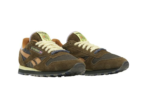 Men's Reebok Brain Dead Classic Leather Shoes