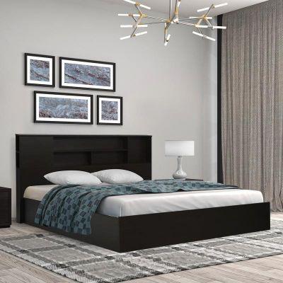 Nilkamal Mozart Queen Bed (Wenge)