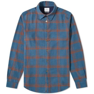 PAUL SMITH FLANNEL CHECK OVERSHIRT 2