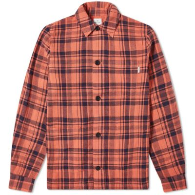 PAUL SMITH FLANNEL CHECK OVERSHIRT