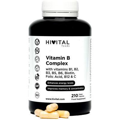 VITAMIN B COMPLEX | 210 VEGAN CAPSULES