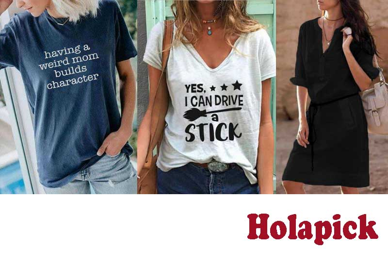12 Best Selling Tshirts from Holapick