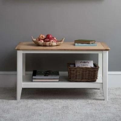 Eden White Coffee Table
