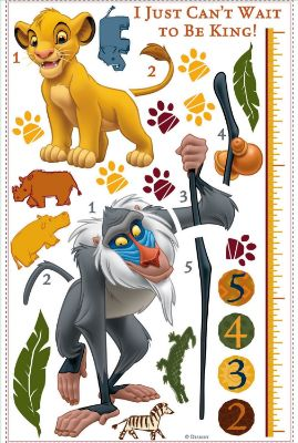 Giant Measurements Stickers The Lion King Disney