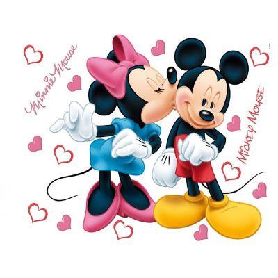 Giant Mickey and Minnie Disney stickers