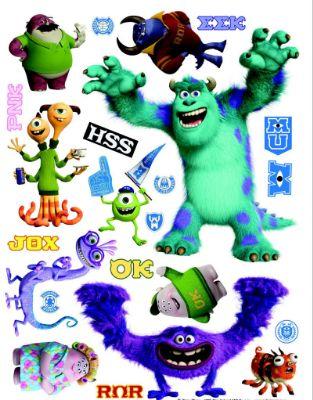 Giant Stickers Monsters University Pixar