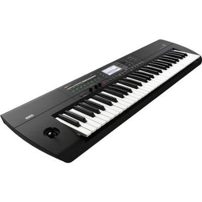Korg i3 61 Key Music Workstation, Rubberized Matte Black