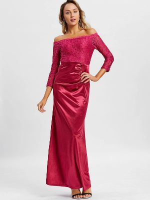 Off The Shoulder Long Party Dress