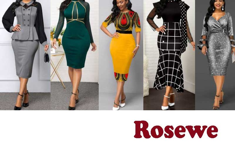17 Best Selling Bodycon Dresses from Rosewe