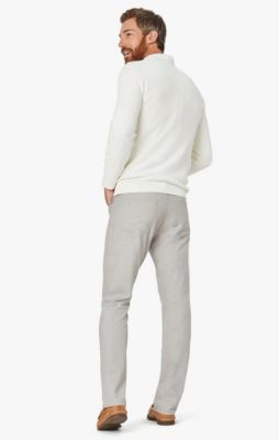 Charisma Relaxed Straight Pants In Sand Summer Melange