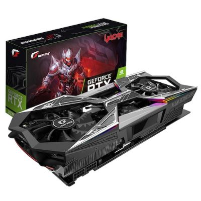 Colorful iGame GeForce RTX 2070 Vulcan X OC Graphics Card - Dark Slate Grey