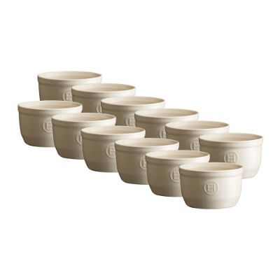 EMILE HENRY - Ramekin Set - Set of 12 - Clay
