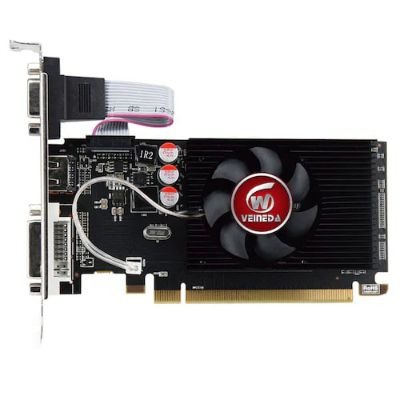 GPU Graphics Cards HD6450 2GB DDR3 HDMI Graphic Video Card PCI Express For ATI Radeon Gaming - Black
