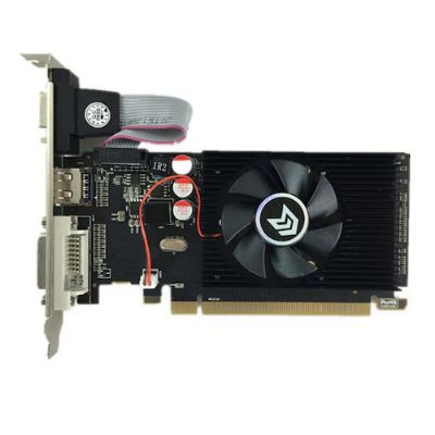 Graphics Card Pci Express HD7450 2GB DDR3 64BIT LP Placa De Video Card PC For Ati Radeon - Black