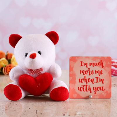 With You Table Top & Cute Teddy