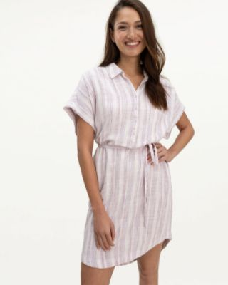 Blanche Shirt Dress