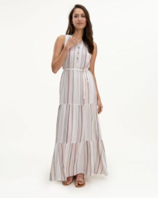 Field Stripe Maxi Dress