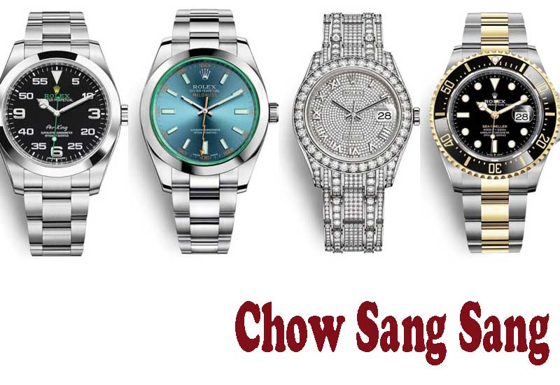 15 Best Selling Rolex Watches from Chow Sang Sang