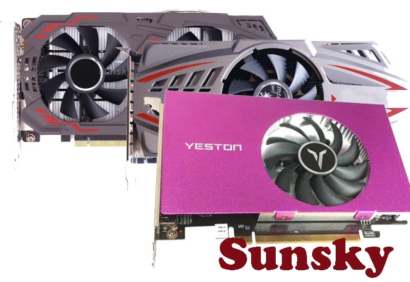 16 Best Selling Wholesale Graphics Cards from Sunsky