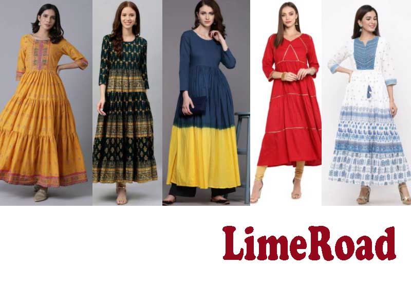 20 Best Selling Kurta and Ethnic Dress from LimeRoad