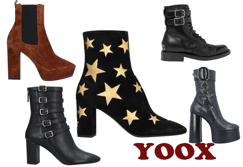 11 BEST SELLING SAINT LAURENT ANKLE BOOTSFROM YOOX