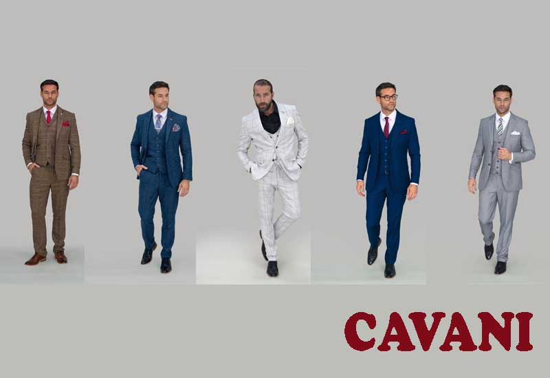 13 Best Selling 3 Piece Suits from CAVANI