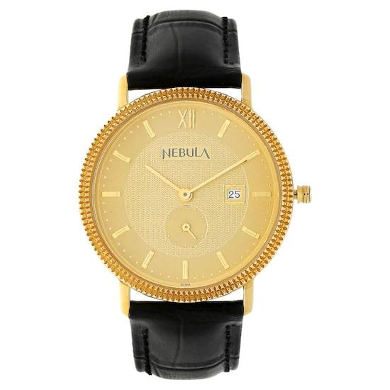 18 Karat Solid Gold Analog Watch 3