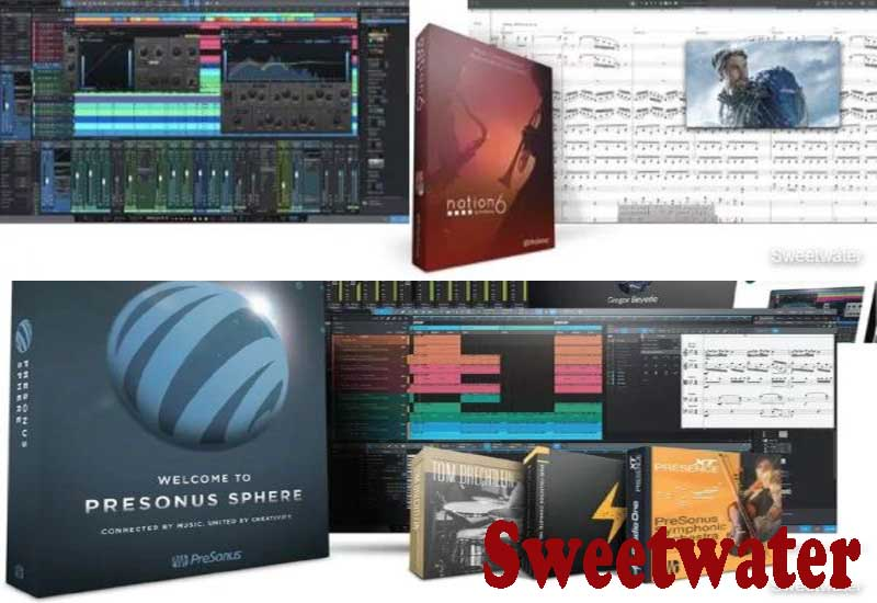 7 Best Selling PreSonus DAW Software from Sweetwater