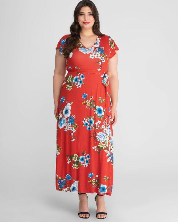 Madison Plus Size Maxi Dress