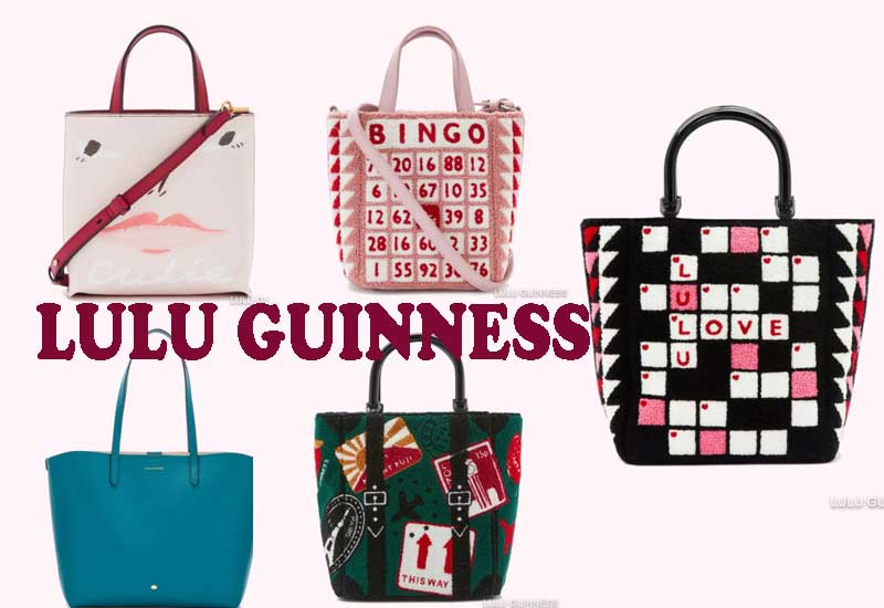10 Best Selling Tote Bags from LULU GUINNESS