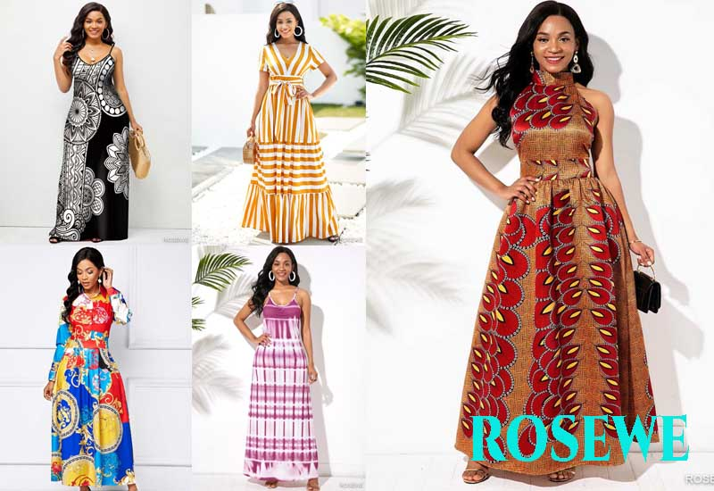 15 Best Selling Vacation Dresses from ROSEWE
