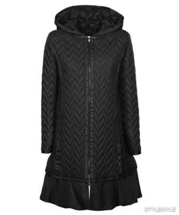 EMPORIO ARMANI - Emporio armani chevron quilting jacket