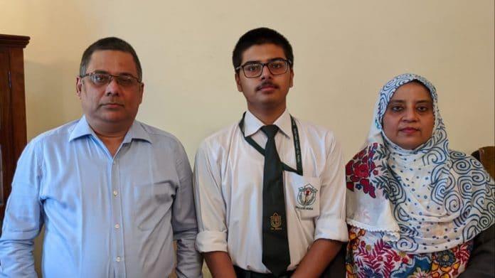 muslim boy mohammad zaid hasan score 100 marks in sanskrit