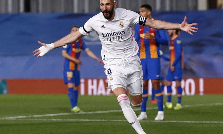 Real Madrid beat Barcelona in la liga