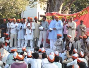 20-11-14 Taza - Kisaan Dharna Tehsil 2