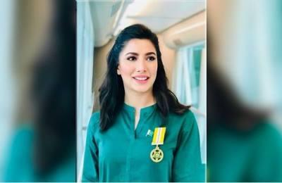 Mehwish Hayat, Tamgha-e-Imtiaz, Pakistan, award,
