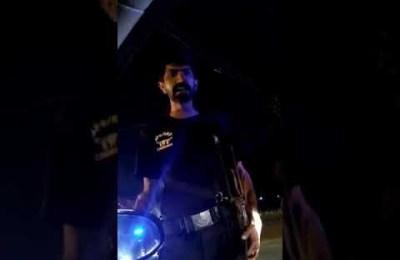 Karachi Police, harass, family, DHA, viral