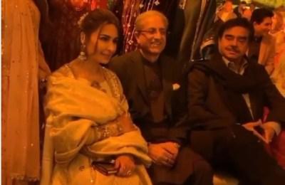 Shatrugan Sinha, India, Bollywood, actor, Lahore, wedding
