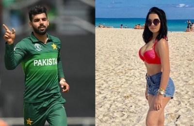 Shadab Khan, Ashreena Safia, Dubai, nudes, leak, Pakistan, cricket, PCB